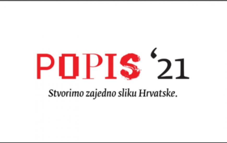 Popis 2021. ilustracija